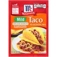 McCormick Mild Taco Seasoning 1oz