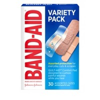 Band-Aid Variety Pack - 30ct