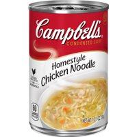 Campbell's Condensed Homestyle Chicken Noodle Soup, 10.5 oz. Can