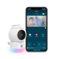 Motorola Peekaboo HD WiFi Video Baby Monitor with Glow Light