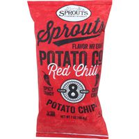 Sprouts Red Chili Potato Chips