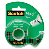 3M Magic Transparent Tape, 1/2' x 22 yds.
