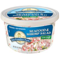 San Francisco Food Company's Seafood & Shrimp Salad with Dill, 16 oz
