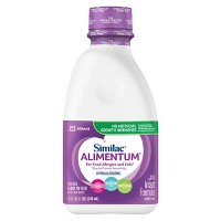 Similac Alimentum Hypoallergenic For Food Allergies and Colic Infant Formula Ready-to-Feed - 32 fl oz