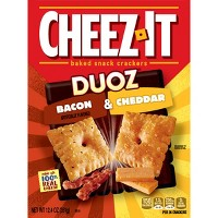 Cheez-It Duoz Bacon & Cheddar Baked Snack Crackers 12.4oz