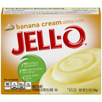 Jell-O Instant Banana Cream Pudding & Pie Filling - 5.1oz