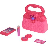 Kid Connection Light and Sound First Purse Play Set, Pink, 5 Pieces