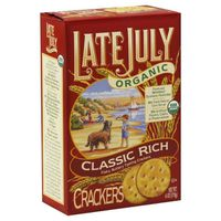Late July Crackers, Organic, Classic