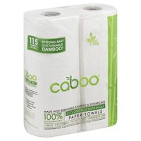 Caboo 2 Ply Paper Towels