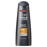 Dove Men+Care Thick & Strong Fortifying Shampoo & Conditioner for Fine or Thinning Hair - 12oz