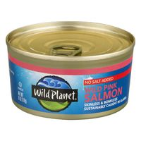 Wild Planet Wild Pink Salmon No Salt Added