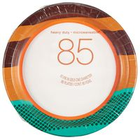 Heavy Duty Microwavable Paper Plates