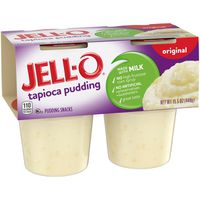 Jell-O Ready to Eat Tapioca Pudding Snack