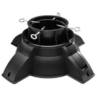 EZ Up Adjustable Christmas Tree Stand, Live Trees Up to 6 in Diameter
