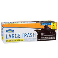 Hill Country Fare Easy Tie Flaps Trash Bags