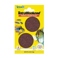 Tetra Weekend Tropical Feeding Block 0.85 Ounce, Feeds Fish Up To 5 Days