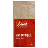 Pantry Essentials Paper Lunch Bags