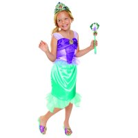 Disney Princess Ariel Tiara to Toe Dress Up Set includes wand, tiara, shoes and dress