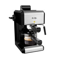 Mr. Coffee Caf Steam Automatic Espresso and Cappuccino Machine, 20 oz, Silver