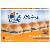 White Castle Sliders Cheeseburgers