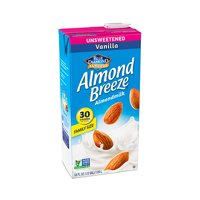Almond Breeze Unsweetened Vanilla Almondmilk, 64 fl oz
