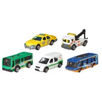 Matchbox 5-Car Collector Vehicle Pack (Styles May Vary)