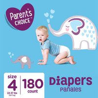 Parent's Choice Diapers, Size 4, 180 Diapers