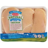 H-E-B Natural Boneless Skinless Chicken Breast