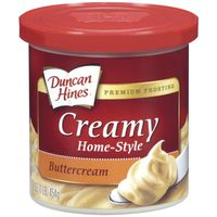 Duncan Hines Frosting, Buttercream, Creamy