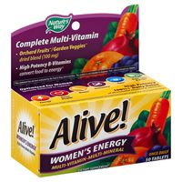 Nature's Way Alive! Women's Energy Multi-Vitamin Tablets