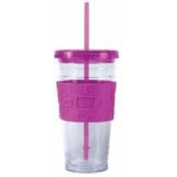 Cool Gear Eco 2 Go Chiller With Band   Clear/Purple