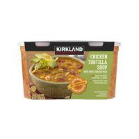 Kirkland Signature Chicken Tortilla Soup, 2 x 32 oz