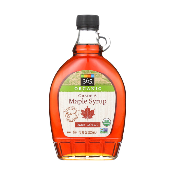 365 everyday value® Grade A Maple Syrup, Dark Color, 12 Fl. Oz.