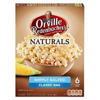 Orville Redenbacher's Natural Simply Salted Classic Bag Of Gourmet Popcorn - 6ct