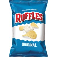Ruffles Original Potato Chips, 9 Oz.