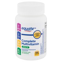 Equate Complete Multivitamin Tablets, Adults,130 count
