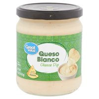 Great Value Queso Blanco Cheese Dip, 15 Oz.