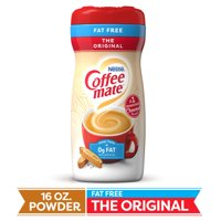 Nestle Coffeemate Fat Free Original Powder Coffee Creamer 16 oz. Canister