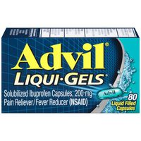 Advil Ibuprofen 200mg Liquid Filled Capsules