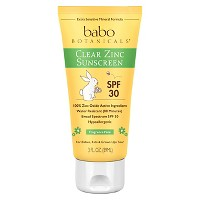 Babo Botanicals Clear for Babies Fragrance Free Zinc Sunscreen Lotion - SPF 30 - 3.0oz