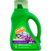 Gain Liquid Laundry Detergent with Febreze Freshness, Moonlight Breeze