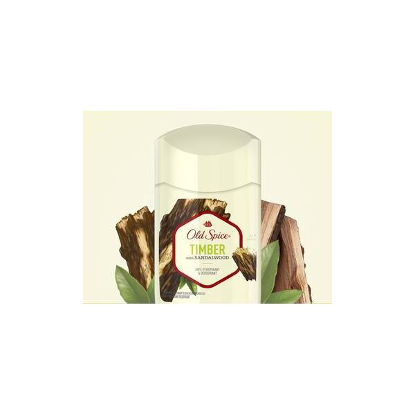 Old Spice Fresher Collection Timber Invisible Solid Antiperspirant and Deodorant - 2.6oz