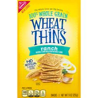 Wheat Thins Nabisco  Ranch