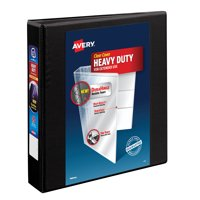 Avery 1.5' Heavy Duty View Binder, One-Touch Slant Ring, 400 Sheets