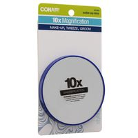 Conair Stickaround Mirror, 10x Magnification