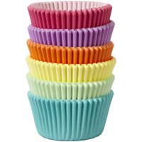 Wilton Pastel Rainbow Color Cupcake Liners, 150-Count