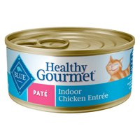 (24 Pack) Blue Buffalo Healthy Gourmet Natural Adult Pate Indoor Wet Cat Food