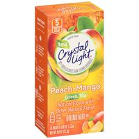 Crystal Light On-The-Go Sugar Free Powdered Peach Mango Green Tea