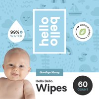 Hello Bello Baby Wipes 1-PK (60ct)