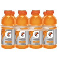 Gatorade Thirst Quencher Sports Drink, Orange, 20 oz Bottles, 8 Count